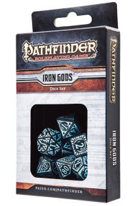 Pathfinder Dice Set - Iron Gods
